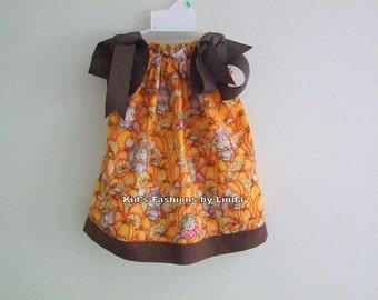 Scarecrow Pillowcase Dress-Great for Pumpkin Patch