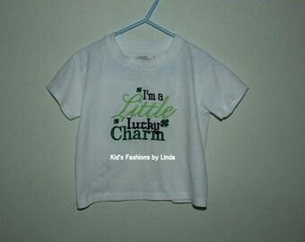 St Patrick Little Lucky Charm  Tshirt