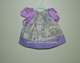 Easter Jesus Lavender  Pillowcase Dress