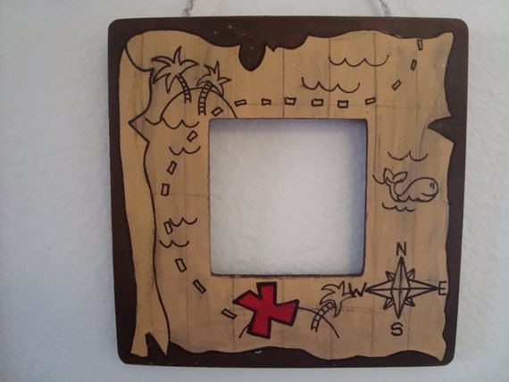 Little Boy S Treasure Map Picture Frame