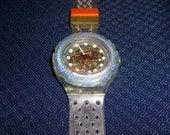 Vintage swatch scuba watch SDK104 Jelly Bubbles 1991 ..In Box not worn..
