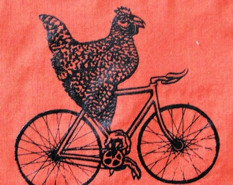 Chicken on Bicycle patch