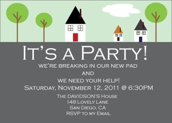 Invitation House Warming was good invitations example