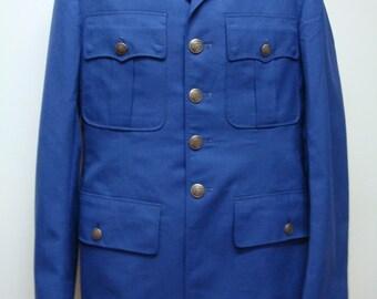 Authentic Vietnam Era US Air Force (USAF) Military Coat Size 39L