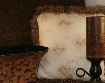 Fisherman Decorative Pillow