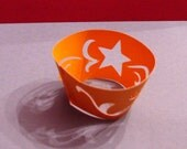 Wishing Star Cupcake Wrapper (cwt016) - Made to Order Item
