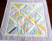 Doll Quilt - Patchwork in Pastels