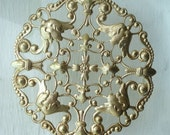 Ajoure Brass Lace Disc (1)