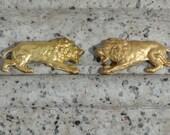 Pair of Vintage Lions