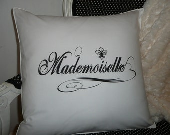 Mademoiselle Pillow Cover