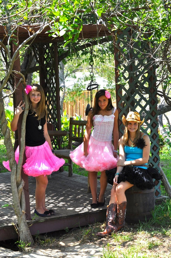 Teen/Adult Pettiskirt, Any Length and Size Available
