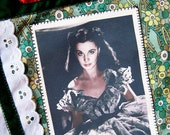 Scarlett O'Hara Gone with the Wind Quote Applique Bag
