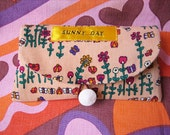 Sunglasses case with Sunny Day Applique