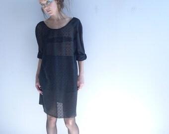 Silky T Shirt / dress/ loose