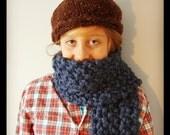 Chunky moss stitch scarf pattern