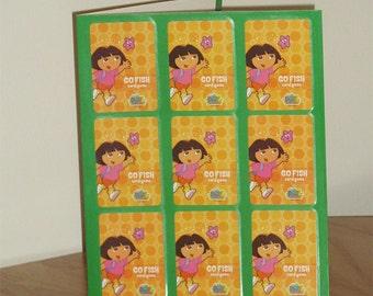 Dora the Explorer Two Pocket Folder - Dora the Explorer Folder - Dora Folder - School Folder - Folder for Girls