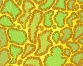 09006- Sale  - Brandon Mabley for Rowan fabrics Python in yellow -1 yard