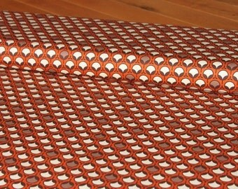 00023 Joel Dewberry Modern Bud in  Rust Ginseng Collection Home Dec fabric - 1 yard
