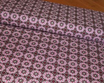02414 Anthology Fabrics Folklife PR123 Pink Medallion- 1 yard
