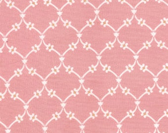 01571 Free Spirit Annette Tatum Fall House 2009 Collection Garden Vine in Coral  color- 1 yard