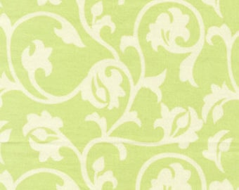 01596 Free Spirit Annette Tatum Fall House 2009 Collection Pool in lime color- 1 yard