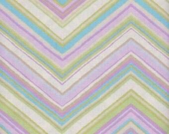 01053 - Free Spirit Carla Miller Zig Zag in Pastel  color- 1 yard