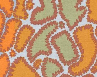 09005- Sale  - Brandon Mabley for Rowan fabrics Python in grey -1 yard