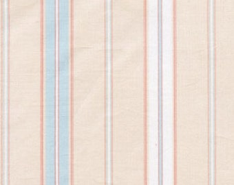 01601 Free Spirit Annette Tatum Fall House 2009 Collection  Euro Stripe in Soft Sea  color- 1 yard