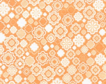 01679 Jenean Morrison Wildworld collection  Bon Vivant in Peach color - 1 yard
