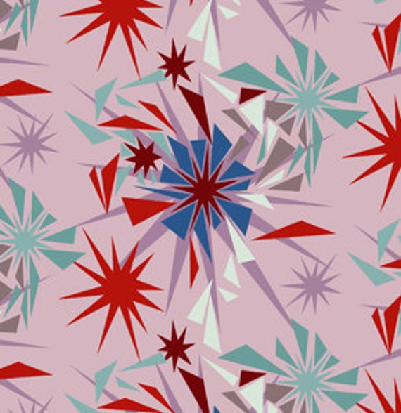15003- Anna Maria Horner Innocent crush collection Shattered in Circus color- 1 yard