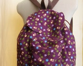 Sweet Purple with Owls Backpack