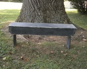 wooden bench 5' bench/entryway bench/ hallway/coffee table recycled wood