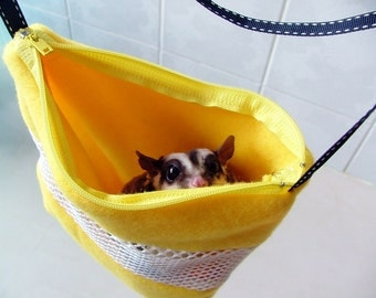 Sugar Glider / Rat    SOFT   Bonding Bag washable with BIG mesh
