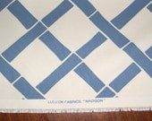 Great Summer fabric from Lulu DK - Madison in Ocean Indoor Outdoor