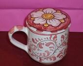 Ceramic Herbal Tea Mug ( Making Tea)n cyber monday