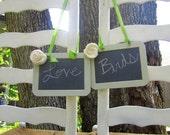 "Two 4'x6"" Chalkboard Photo Prop Shabby Chic Elegant Vintage Rustic Menu Message Boards Showers Weddings Parties Bride and Groom"