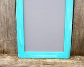 One Large  Antique Distressed Vintage Rustic Shabby Chic Large 7x10 Framed Chalkboards Menu Message  Photo Prop Wedding Signs