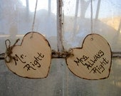 Mr and Mrs Chair Signs Shabby Chic Elegant Rustic Woodland Cinderella Romantic Wedding Signs