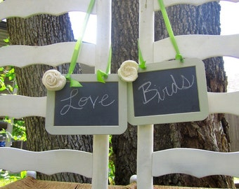 "Two 4'x6"" Chalkboard Photo Prop Shabby Chic Elegant Vintage Rustic Menu Message Boards Showers Weddings Parties Bride and Groom"