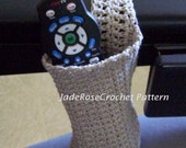 Crochet Cozy Cozy for Bottle or Remote Walker or Wheelchair PDF1000