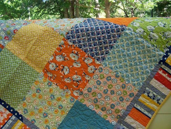 RESERVED FOR Laura Lap Patchwork Quilt American Jane Flower Quilting