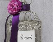 Birdcage Wedding Card Holder DIY Kit