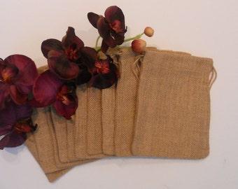 Burlap Bags / Rustic / Favor Bags / Wedding / Burlap Wedding / Supplies / Burlap Favor Bags / Rustic Wedding