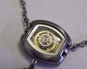 Watch Pendent/Brass and Silver