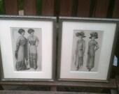 Ladies Home Journal Art Deco Fashion Framed 8x10  1919
