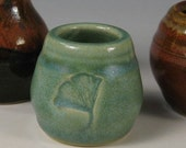 Miniature Pottery Vases - Colorful set of 3
