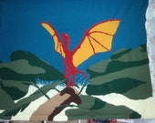 PDF 3x5 Pattern: Dragon Taking Flight
