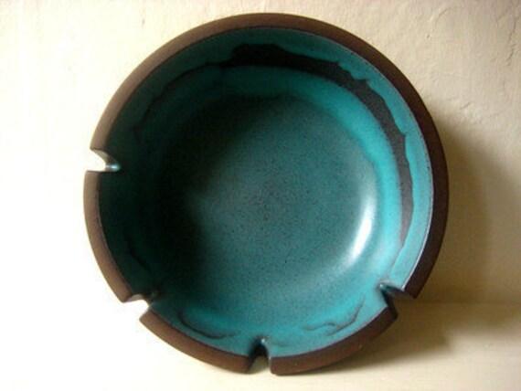 Vintage Heath Ceramic-Eames Era 1960's Ashtray Mid-century Modern