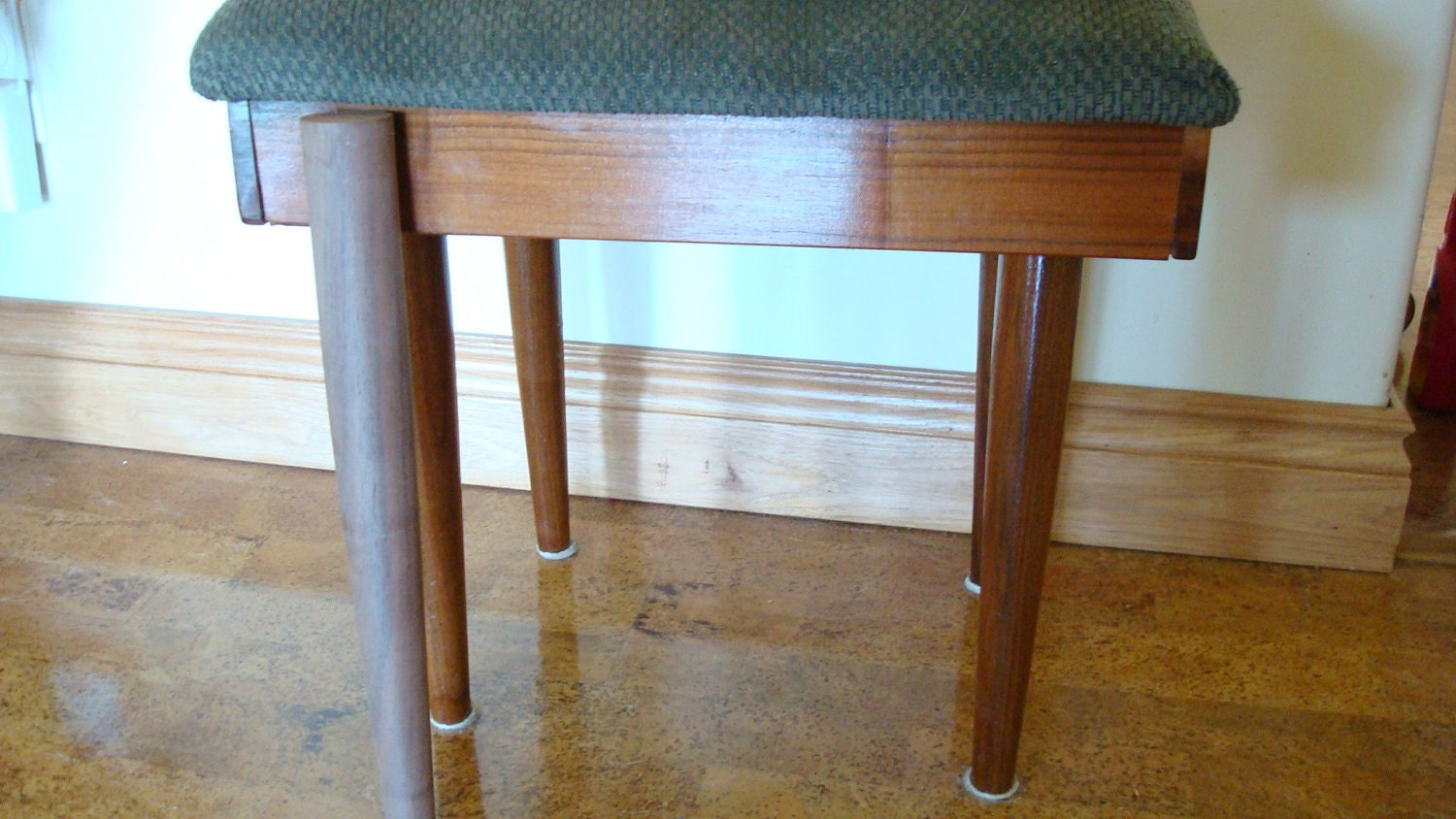 Sale 4 Black Walnut Solid Wood Furniture Legs 17 Inches By Itsold