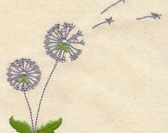 Dandelion Dreams Flour Sack Hand/Dish Towel